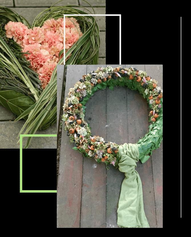 Mourning flowers - Fiori e Idee Marilena