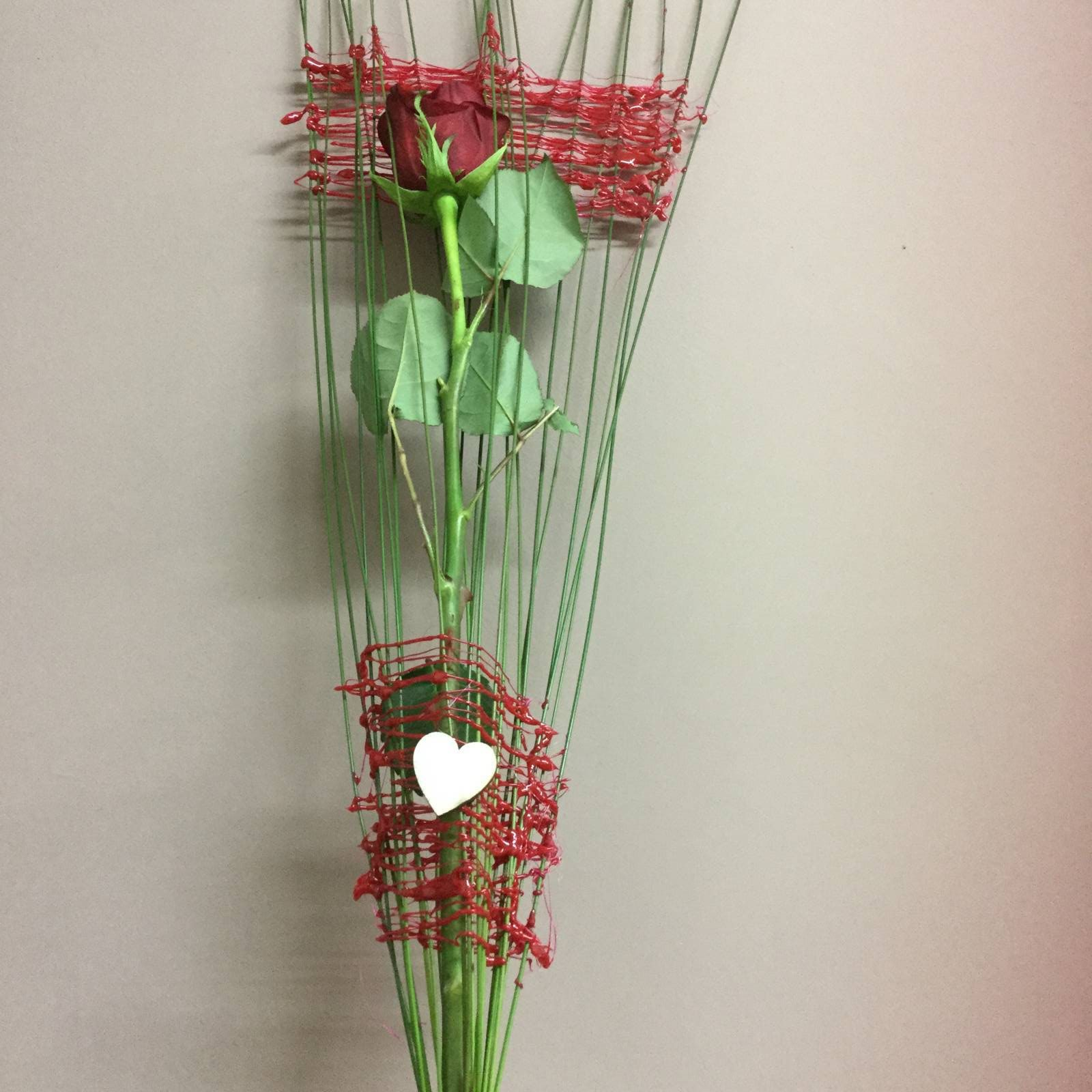 Bouquet of flowers for Valentine's Day - Flowers and Marilena Ideas