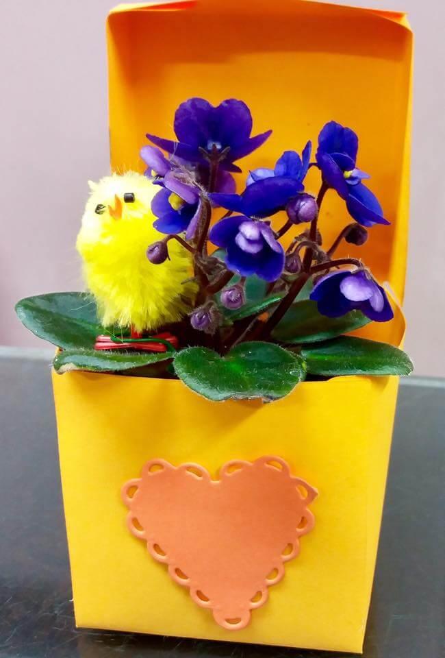 Composizioni floreali per Pasqua