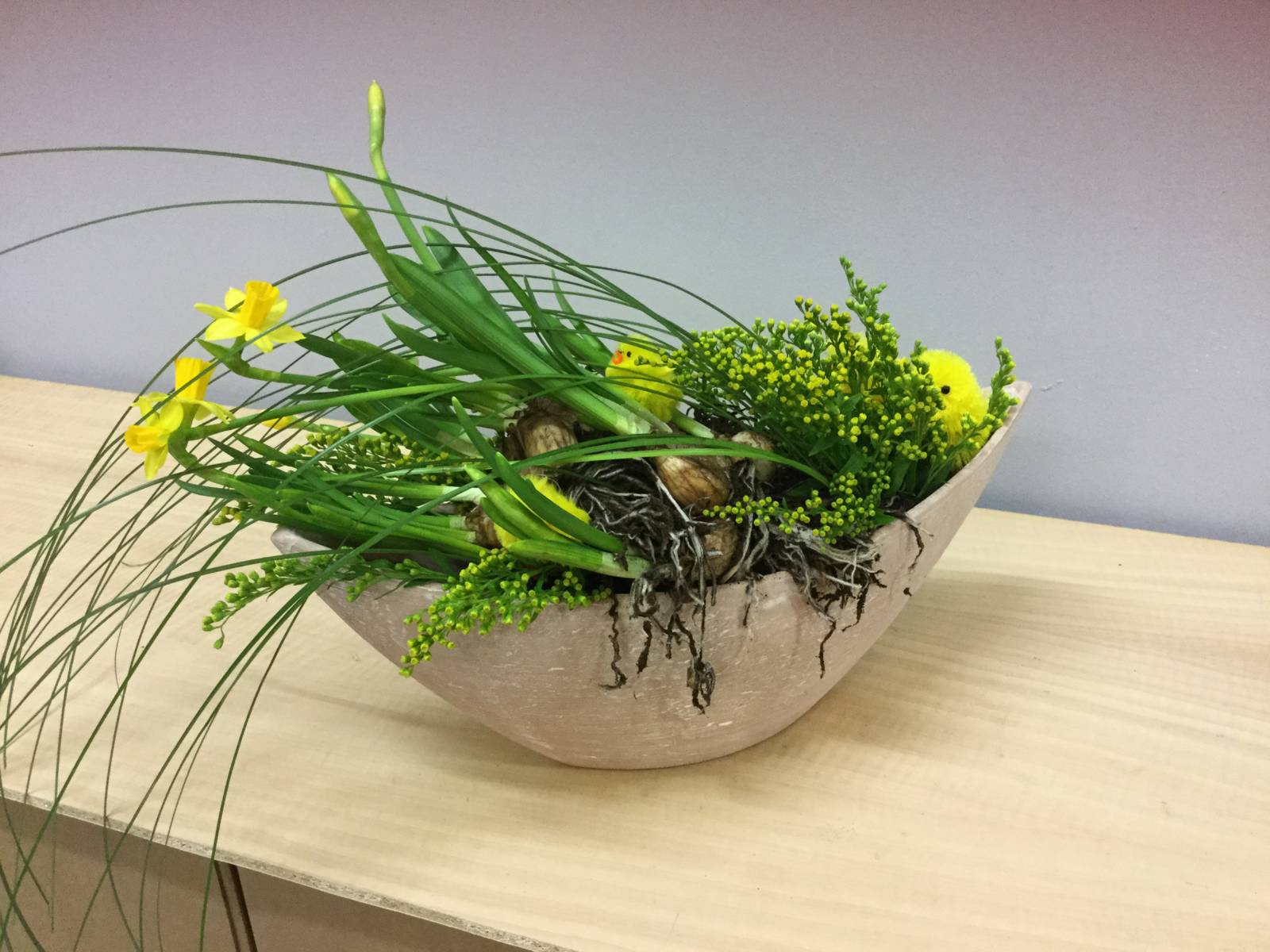 Scatole floreali per Pasqua