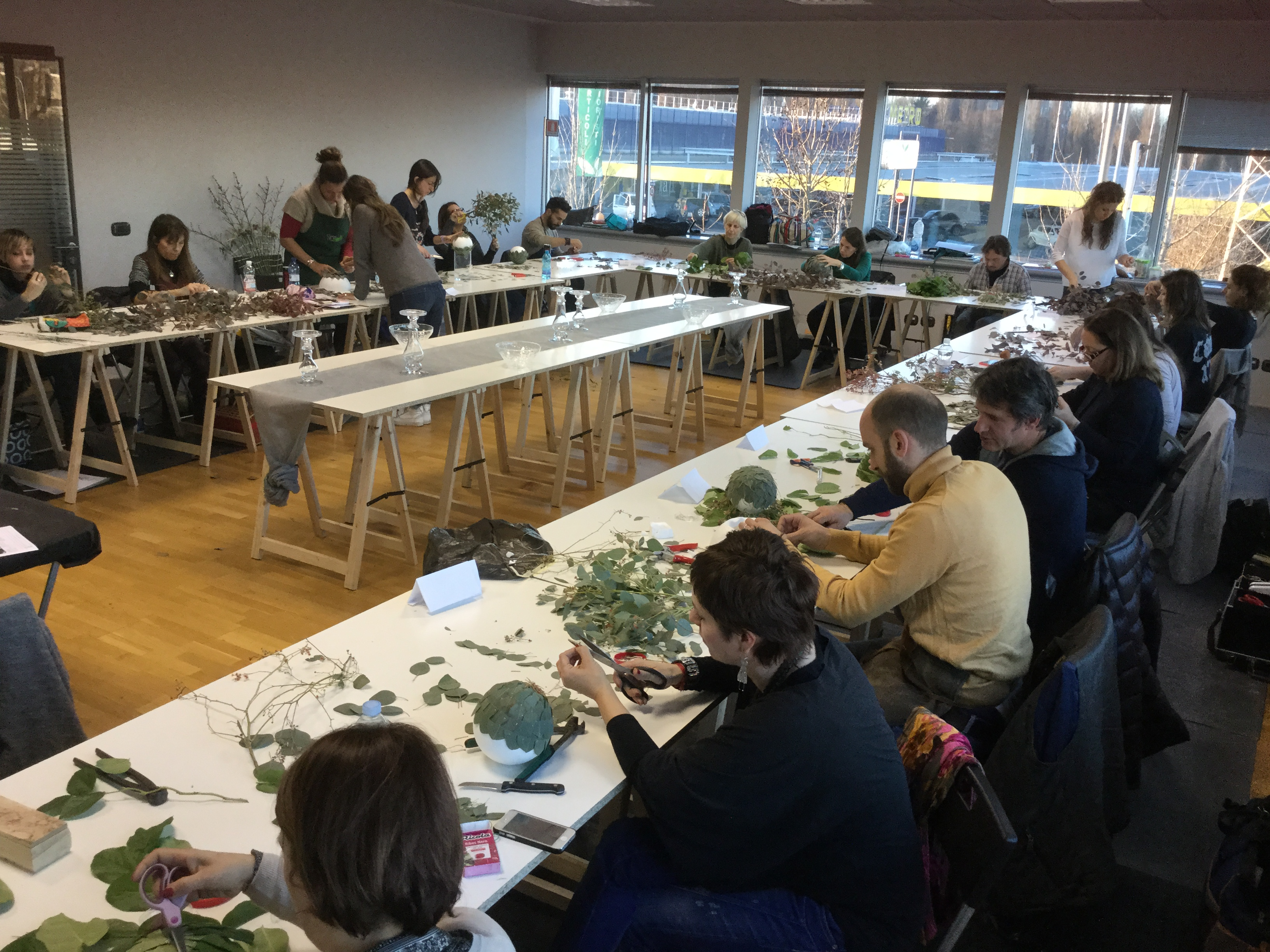 Laboratorio Idee School of Floral Design